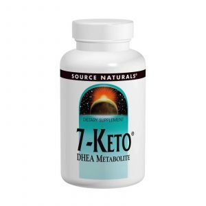 7 кето ДГЭА метаболит, Source Naturals, 50 мг, 60 таб
