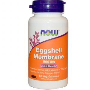 Яичная скорлупа, Now Foods, 500 мг, 60 капсул