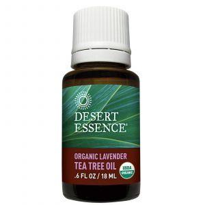 Масло чайного дерева и лаванды, Desert Essence, 18 мл.