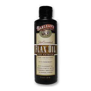 Льняное масло для животных, Barlean's, 355