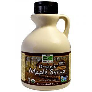 Кленовый сироп, Maple Syrup, Now Foods, 473 мл (Default)