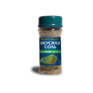 """Вкусная соль """"Весенняя зелень"""", Biola, 65 гр"""