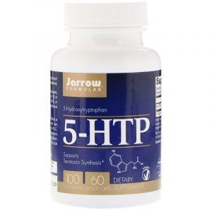 5-НТР, 5-гидрокситриптофан, Jarrow Formulas, 100 мг, 60 кап. (Default)