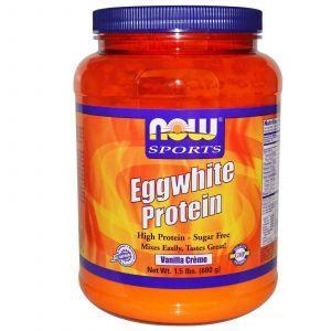 Яичный протеин, ваниль, Now Foods, 680 г