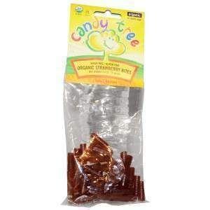 Клубничные леденцы, Strawberry Bites, Candy Tree, 75 г