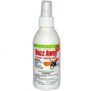 Спрей-Репеллент против насекомых на основе цитронеллы (Insect Repellent), Quantum Health, 180 мл.
