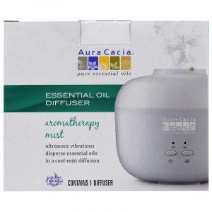Ультразвуковой диффузор эфирных масел, Essential Oil Diffuse, Aura Cacia, 1 шт.
