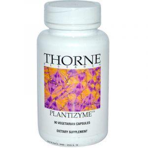 Энзимы, Plantizyme, Thorne Research, 90 капсул (Default)