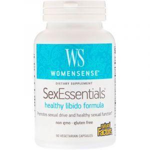 Репродуктивное здоровье женщин (Libido), SexEssentials, Natural Factors, 90 капсул (Default)