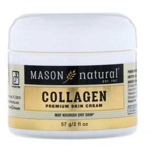 Антивозрастной крем с коллагеном, Collagen Cream, Mason Natural, аромат груши, 57 г. (Default)