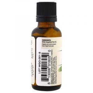 Эфирное масло грейпфрута, White Grapefruit, Dr. Mercola, органик, 30 мл (Default)