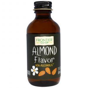 Кленовый сироп, Almond Flavor, Alcohol-Free, Frontier Natural Products, миндальный, 59 мл (Default)
