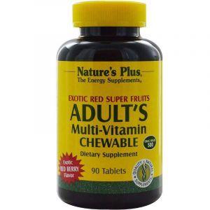 Мультивитамины, супер фрукты, Multi-Vitamin, Nature's Plus, 90 таблеток (Default)