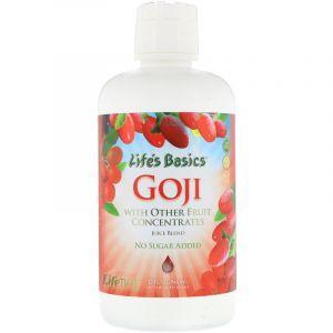 Ягоды годжи, сок, Goji Juice, Life Time, 946 мл (Default)