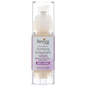 Сыворотка с витамином С и антиоксидантами, Serum, Reviva Labs, 29,5 мл