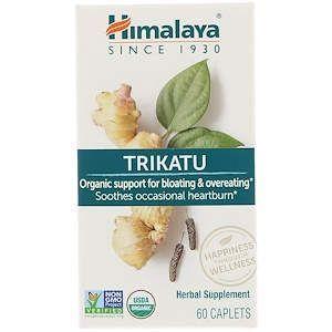 Здоровое пищеварение, Trikatu, Himalaya, 60 каплет