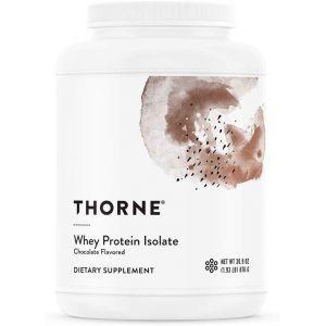 Сывороточный протеин, изолят, Whey Protein, Thorne Research, шоколад, 876 г (Default)