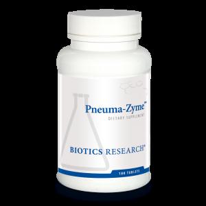 Респираторная поддержка, Pneuma-Zyme, Biotics Research, 100 таблеток