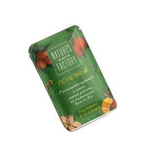 Гречишный шоколад с манго, Natures own factory, 20 гр