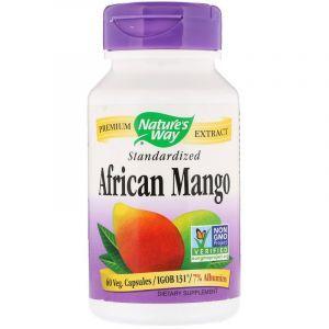 Африканский манго, African Mango, Nature's Way, стандартизированный, 60 капсул (Default)