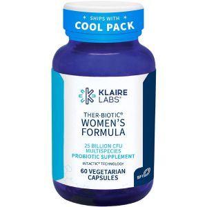 Пробиотики (Ther-Biotic Womens Formula), Klaire Labs, 60 капсул