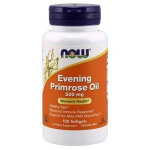 Now Foods, Evening Primrose Oil, 500 mg, 100 Softgels