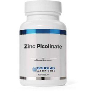 Цинк пиколинат, Zinc Picolinate, Douglas Laboratories, 50 мг, 100 капсул