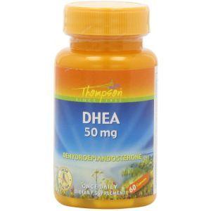 ДГЭА (дегидроэпиандростерон), DHEA, Thompson, 50 мг, 60 капсул