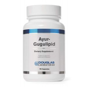 Гугулипид, Ayur-Gugulipid, Douglas Laboratories, 90 капсул