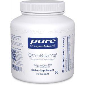 Кальций (формула поддержки против остеопороза), OsteoBalance, Pure Encapsulations, 210 капсул