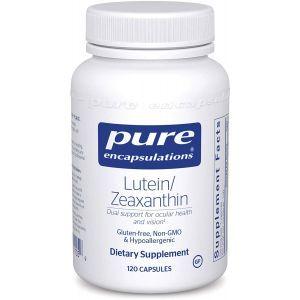 Лютеин/Зеаксантин, Lutein/Zeaxanthin, Pure Encapsulations, 120 капсул