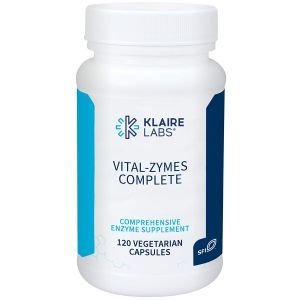 Энзимы (Vital-Zymes Complete), Klaire Labs, 120 капсул