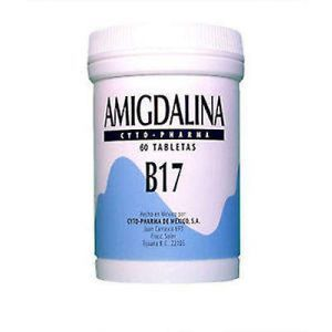 Витамин в17, Amygdalin, 500 мг, 60 таблеток