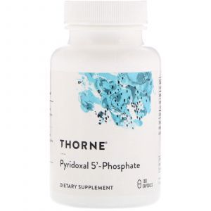 Витамин В6 (пиридоксин), Pyridoxal 5'-Phosphate, Thorne Research, 180 капсул (Default)
