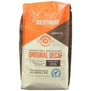 Кофе цельнозерновой, средней обжарки, Original Decaf, BulletProof, 340 г
