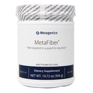 Очищение организма, пищевые волокна, MetaFiber, Metagenics, порошок, 304 г