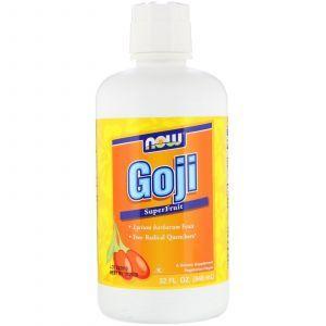 Ягоды годжи сок, Goji, Now Foods, 946 мл (Default)