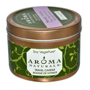 Свеча  с ароматом иланг-иланга и лаванды, Aroma Naturals, 79,38 г