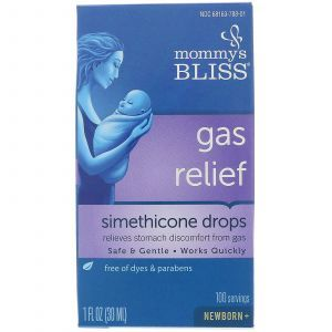 Капли симетикон от детских коликов, Gas Relief, Mommy's Bliss, 30 мл