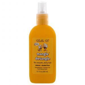 Cредство для облегчения расчёсывания волос, Mangle Detangle, Bella B, 200 мл