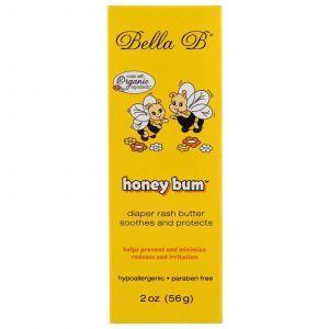 Масло от опрелостей, Diaper Rash Butter, Bella B, 56 г