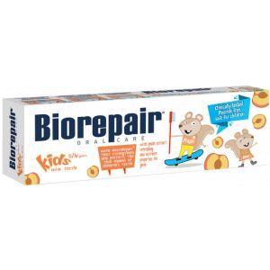 Детская зубная паста Веселый Мышенок, персик, BioRepair, 50 мл