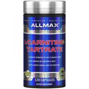 L-Карнитин + Тартрат, L-Carnitine+Tartrate, ALLMAX Nutrition, 1470 мг, 120 капсул