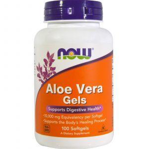 Алоэ вера (Aloe Vera), Now Foods, 100 кап