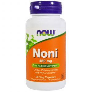 Нони Гавайский, Noni, Now Foods, 450 мг, 90 капсу