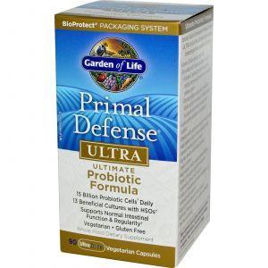 Пробиотическая формула ультра, Probiotic Formula, Garden of Life, 90 капс