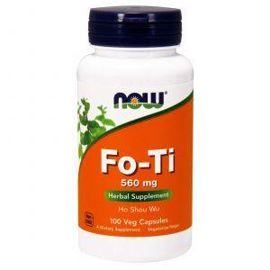 Горец многоцветковый, Fo-Ti, Now Foods, 560 мг, 100 ка