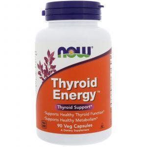 Для щитовидной железы, Thyroid Support, Now Foods, 90 капс