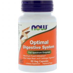 Пищеварительные ферменты, Digestive System, Now Foods, 90 кап