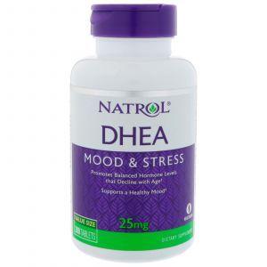 Дегидроэпиандростерон, DHEA, Natrol, 25 мг, 300 таблет
